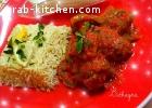 سباغيتي و كرات اللحم بصلصة البندورة
