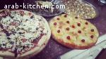 بيتزا ويلنجي ومدلوقه وكعكة اناناس