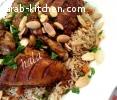 دجاج مع ارز بالخضار على الطريقة الفيتنامية
