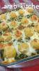 كرات البطاطا بالسبانخ والجبن